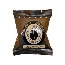 100 CAPSULE CAFFE' BORBONE MISCELA NERA COMPATIBILI ESPRESSO POINT