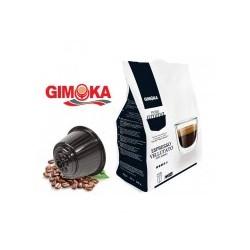 16 Capsule CAFFE' VELLUTATO GIMOKA compatibili Dolce Gusto