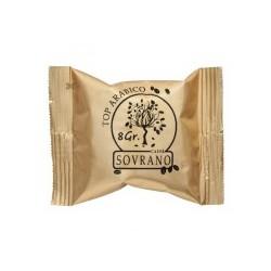 100 Capsule CAFFE' SOVRANO TOP ARABICO COMPATIBILI A MODO MIO