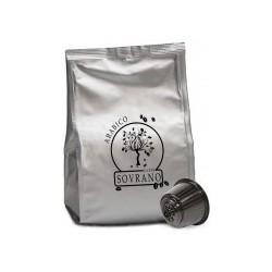 16 Capsule Caffè Sovrano Miscela ARABICA Compatibili Dolce Gusto