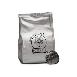 16 Capsule Caffè Sovrano Cioccolato Compatibili Dolce Gusto