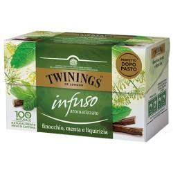 Twinings Infuso Finocchio, Menta e Liquirizia 20 filtri