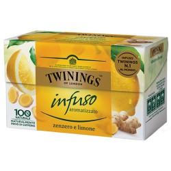 Twinings Infuso Zenzero e Limone 20 filtri