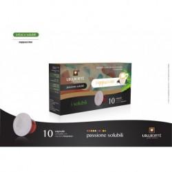 10 Capsule Cappuccino Lollo Compatibili Sistema Nespresso