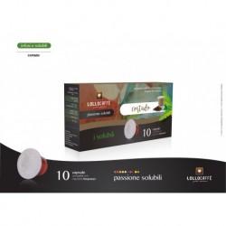 10 Capsule Cortado Lollo Compatibili Sistema Nespresso