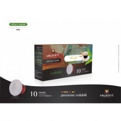 10 Capsule Orzo Lollo Compatibili Sistema Nespresso