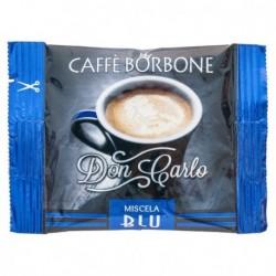 100 CAPSULE CAFFE' BORBONE BLU COMPATIBILI A MODO MIO
