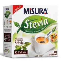 Misura Stevia Dolcificante in Bustine 40x1,5 gr